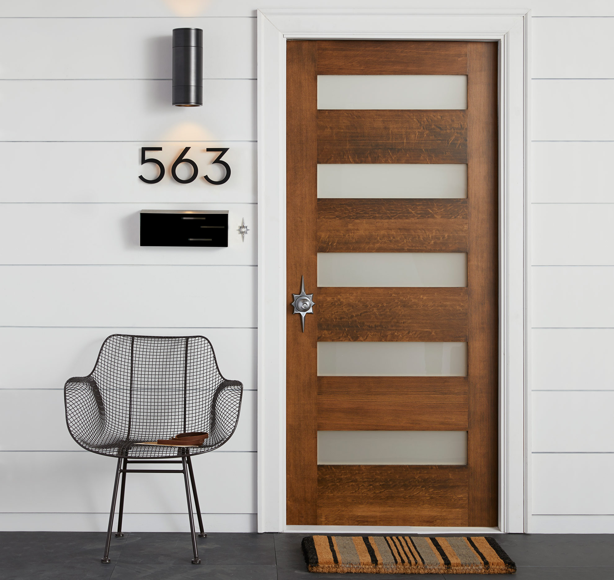 Modern barn door handles barn door handles barn and patio for Bedroom doors design catalogs