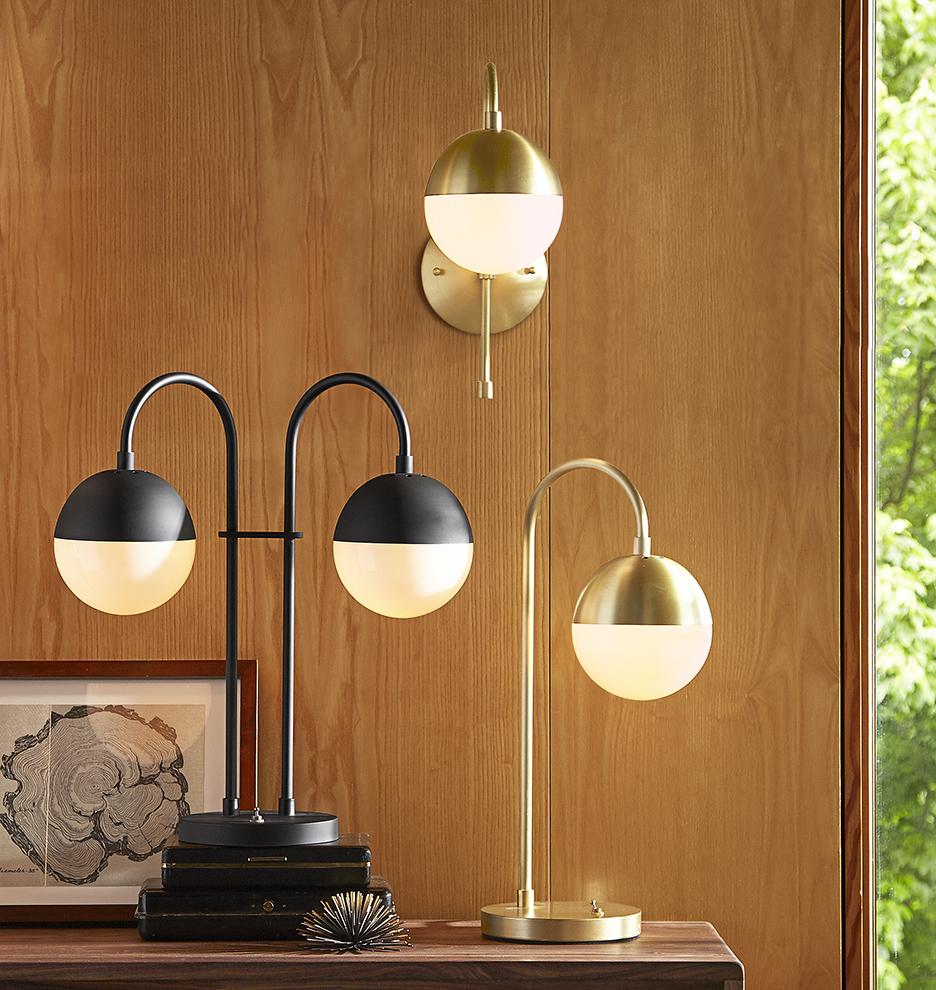 - Cedar & Moss Double Table Lamp Rejuvenation