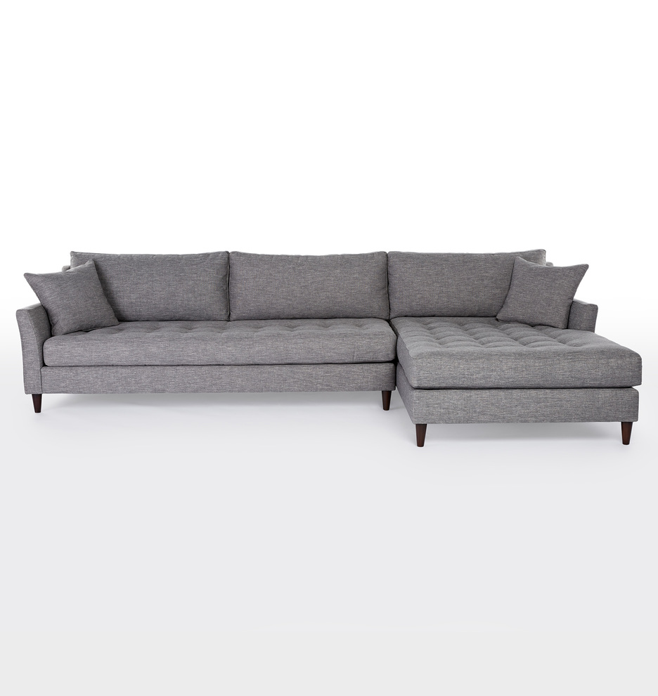 Share your style #myonepiece  sc 1 st  Rejuvenation : sectional with chaise - Sectionals, Sofas & Couches
