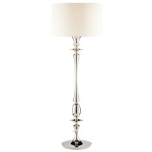 Oberlin Floor Lamp - Polished Nickel