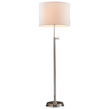 Keystick Floor Lamp - Brushed Nickel