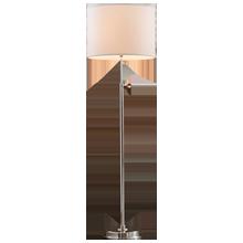 Keystick Floor Lamp - Brushed Nickel