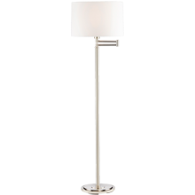 Alder Floor Lamp - Polished Nickel