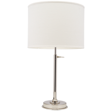 Keystick Table Lamp - Polished Nickel