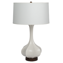 Pike Table Lamp - Matte White