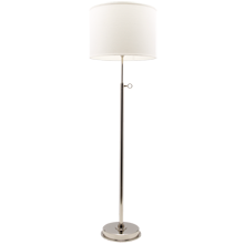 Keystick Floor Lamp - Polished Nickel