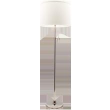 Keystick Floor Lamp - Polished Nickel