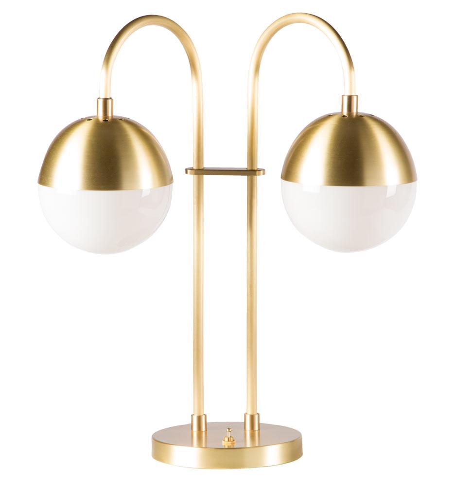 Cedar U0026 Moss Double Table Lamp