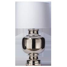 Ball Table Lamp - Polished Nickel