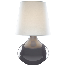 June Ceramic Table Lamp - Ash