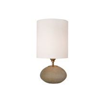 Concrete Orb Accent Lamp