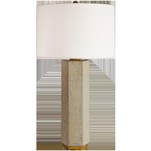 Concrete Hexagon Table Lamp