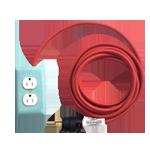 A0119 extoextensioncord mint