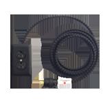 A0120 extoextensioncord black