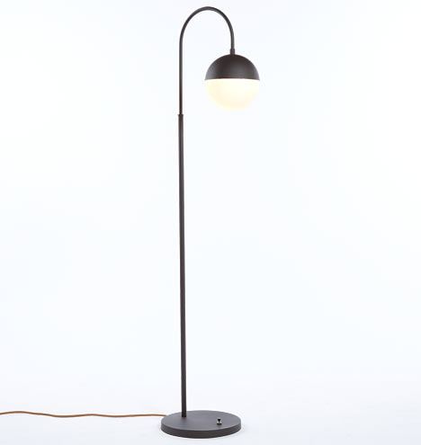 Cedar moss floor lamp rejuvenation
