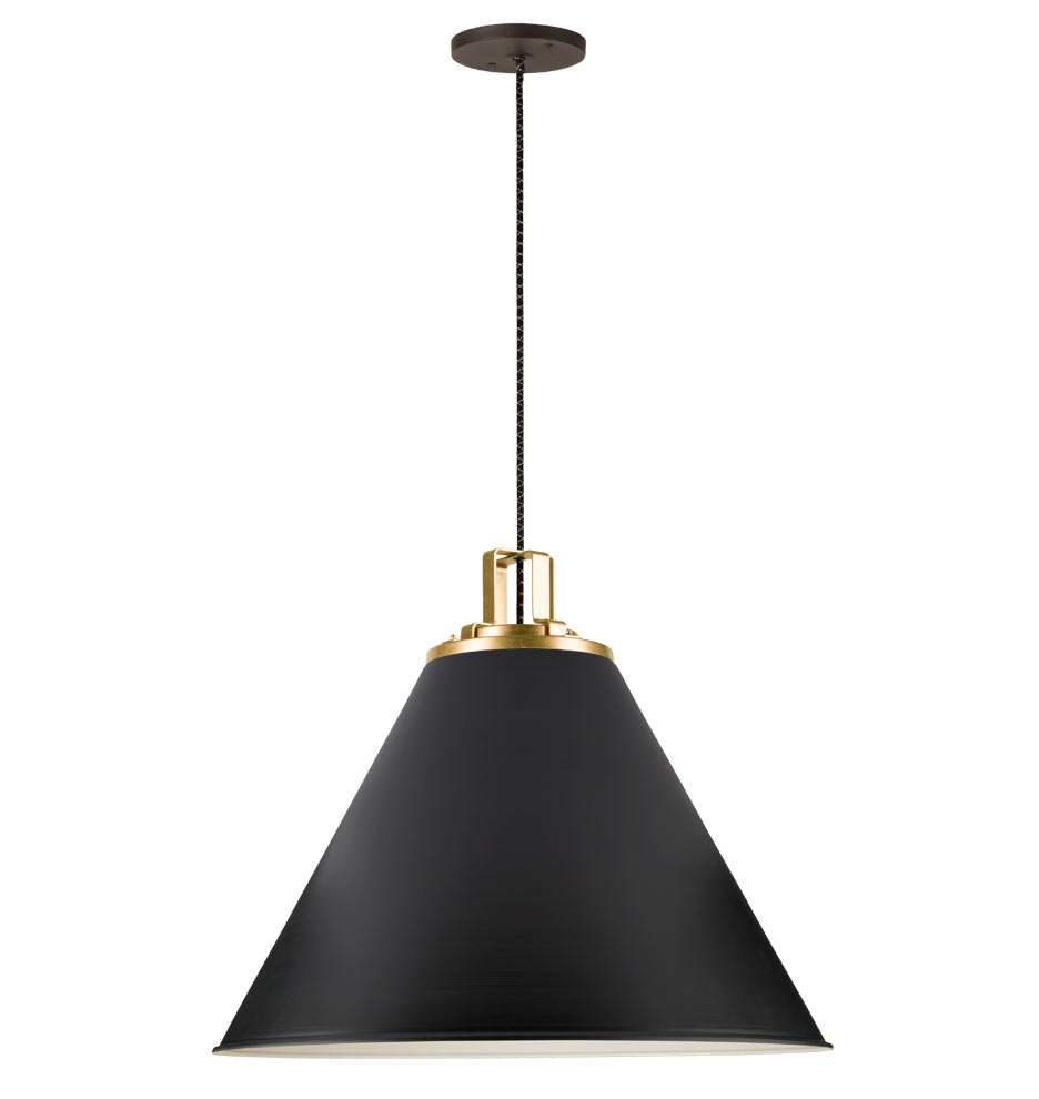 "Lighting Products: Butte 24"" Cone Pendant"