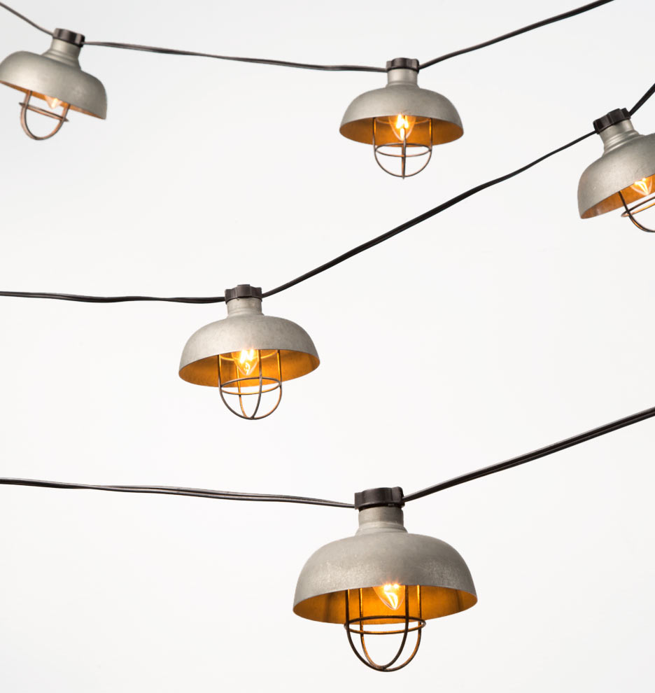 20 Cargo Pendant String Lights Rejuvenation