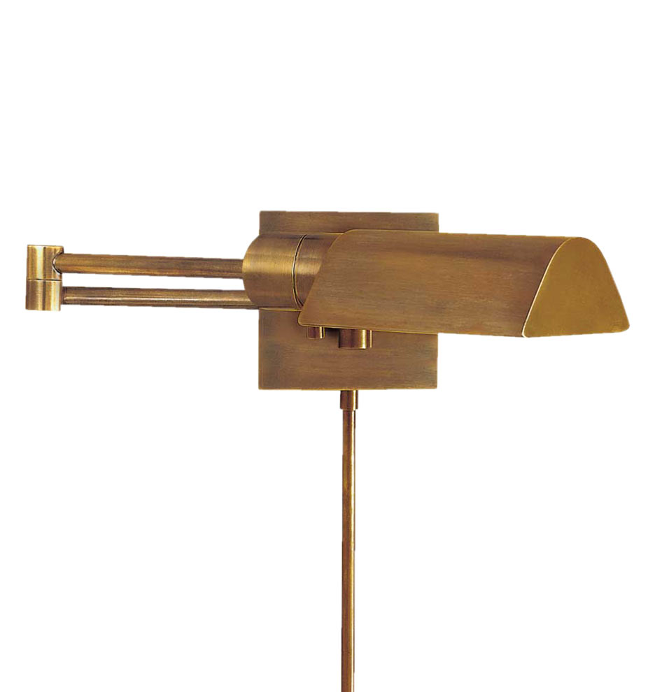 Vintage Brass Wall Lamps : Studio Swing Arm Wall Sconce Rejuvenation