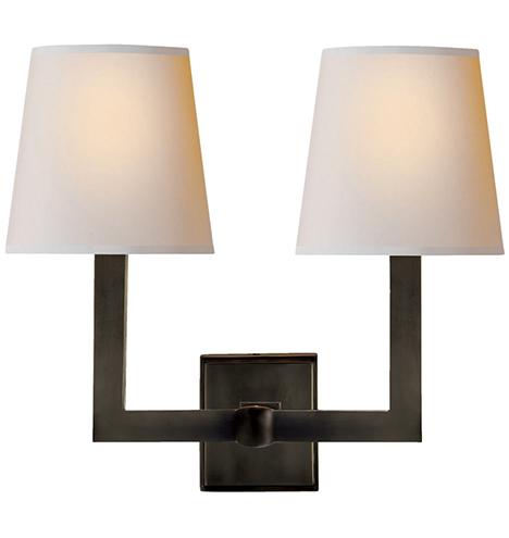 A0223_twolightsquaretubesconce_bronze_a0223_m