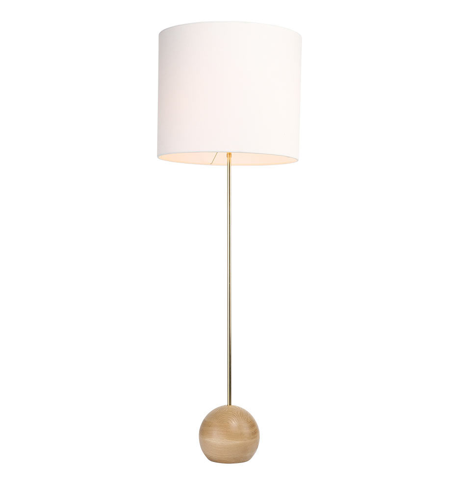 Stand floor lamp 7quot base rejuvenation for Oak floor lamp stand