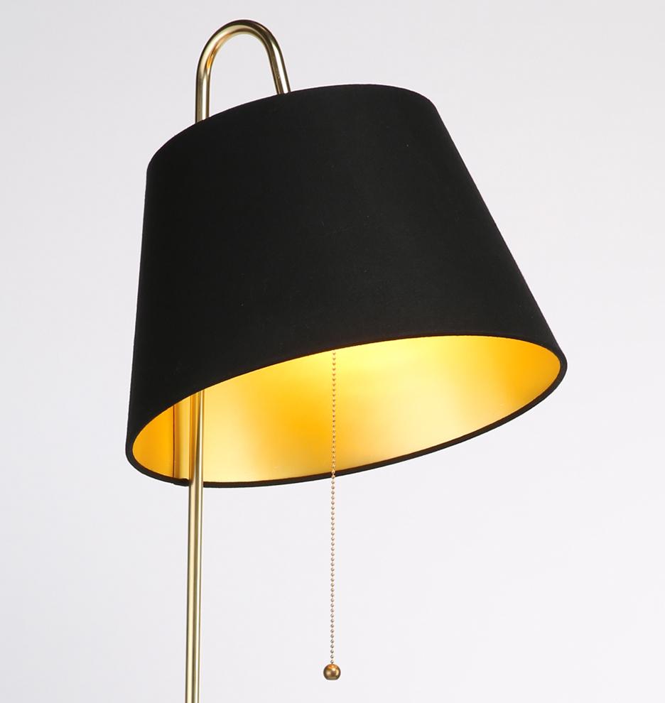 Stem floor lamp rejuvenation for Floor lamp glass stem
