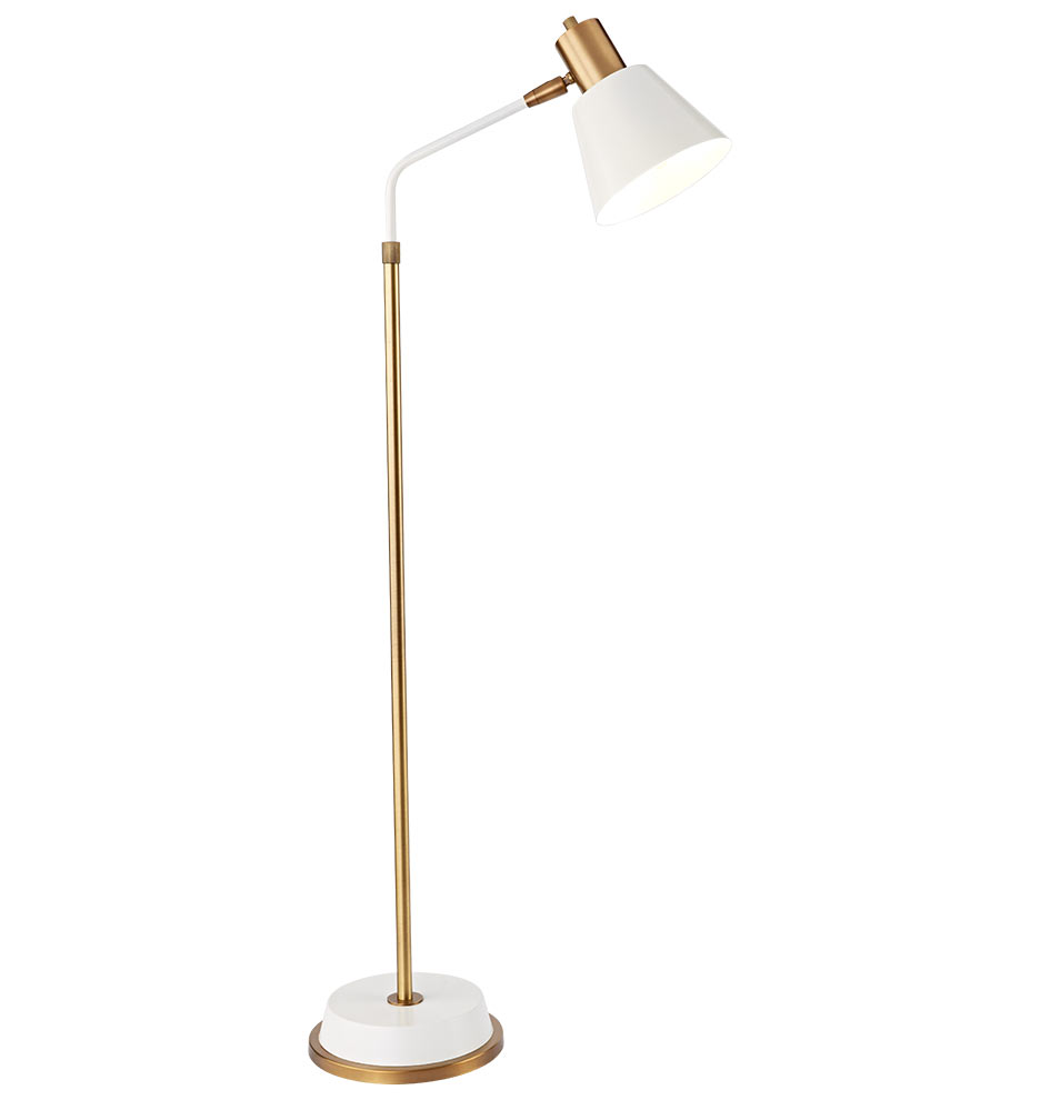 Cylinder task floor lamp rejuvenation for Task lighting floor lamp