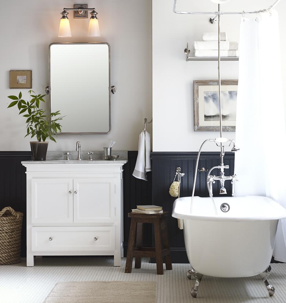 Bathroom Sconces Double enright double sconce | rejuvenation