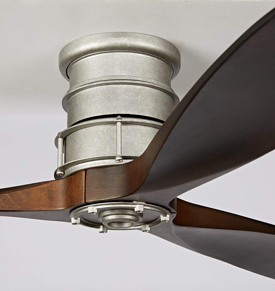 Quality Ceiling Fans Photo 3 Of 6 Charming Ceiling Fan: Falcon Semi-Flush Ceiling Fan