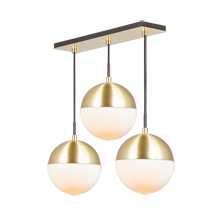 Cedar & Moss 8in 3-Light Multipendant