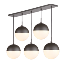 Cedar & Moss 8in 5-Light Multipendant