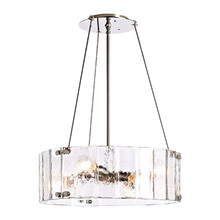 Willamette Small Fluted Glass Chandelier