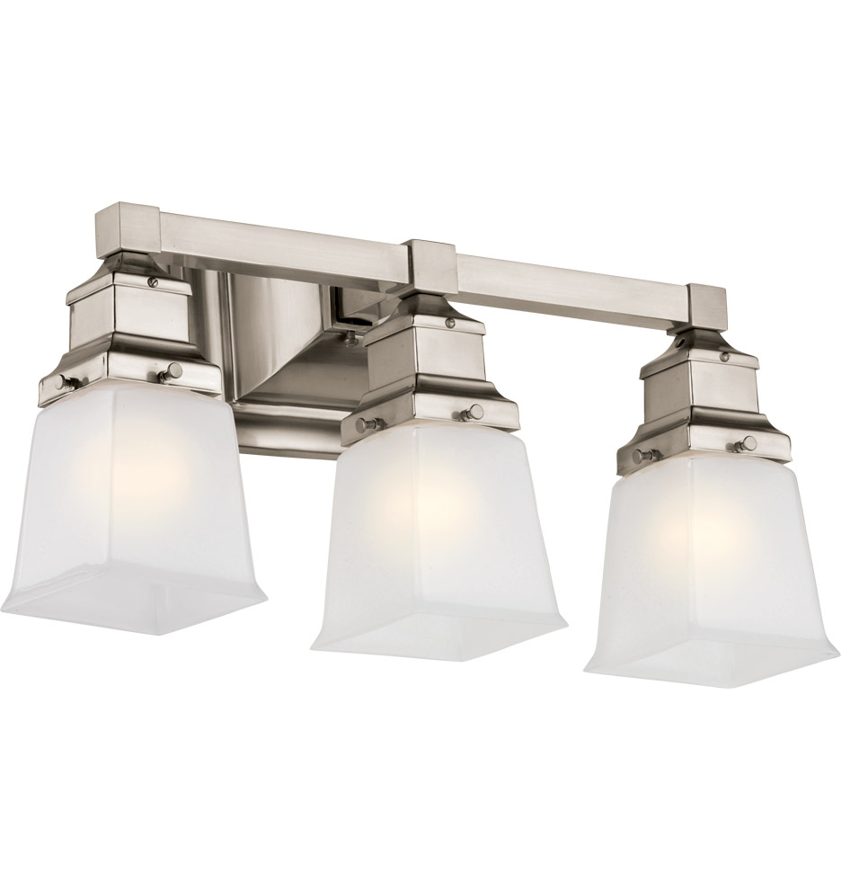 Pacific city triple sconce rejuvenation for Light fixtures for bathrooms