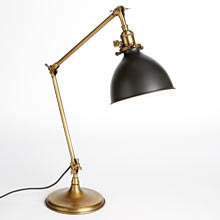 Grandview Task Lamp - Aged Brass
