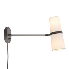 conifer long plugin wall sconce