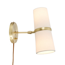 conifer short plugin wall sconce