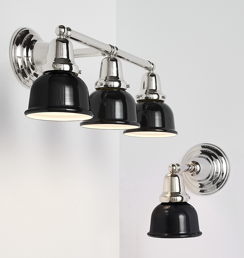 Carlton triple wall sconce rejuvenation amipublicfo Image collections
