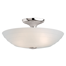 Glide Small Semi-Flush Mount