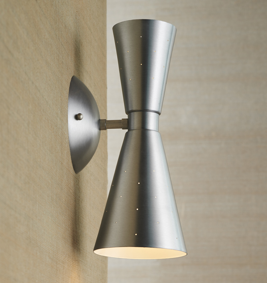 Galaxy single sconce rejuvenation for Mid century modern outdoor lighting