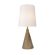 Concrete Cone Accent Lamp