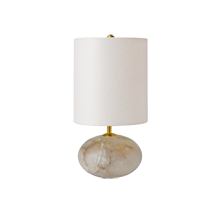 Alabaster Orb Accent Lamp