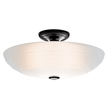 Glide Large Semi-Flush Mount