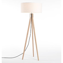 Folk Floor Lamp - Ash