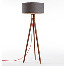 Folk Floor Lamp - Walnut