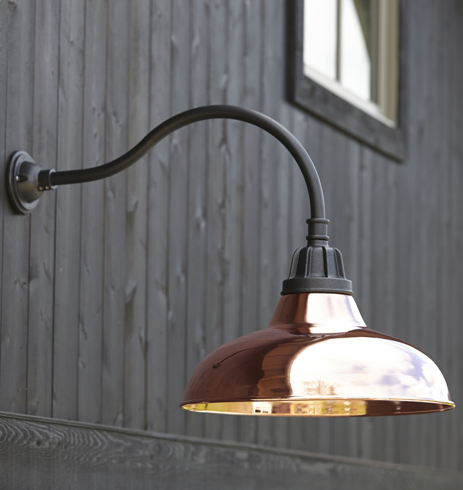 Lovely Exterior Gooseneck Light #10: Rejuvenation