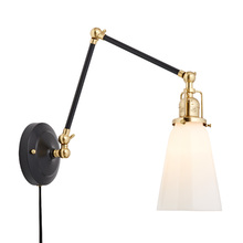 Imbrie Articulating Pin-Up Sconce