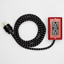 Extō 12ft. Extension Cord with USB