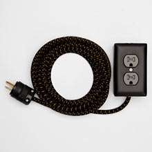 Exto Brass 12ft. Extension Cord