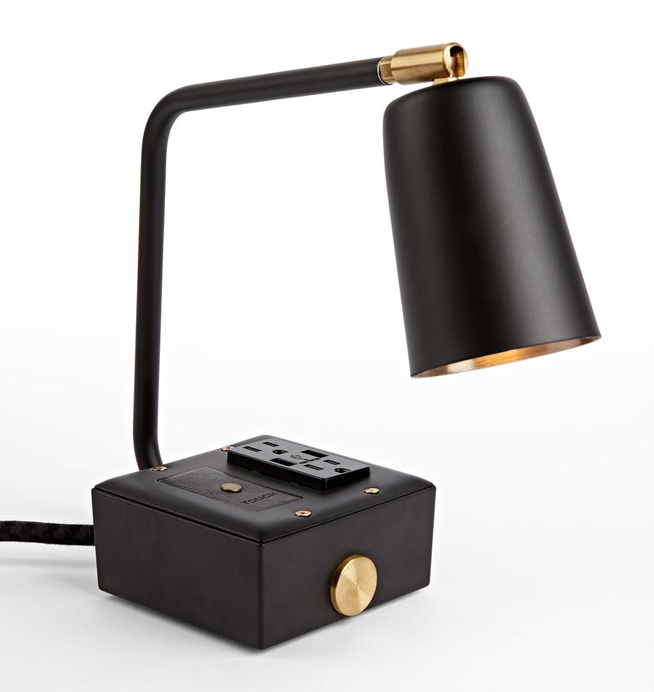 Jax Task Lamp + USB   Rejuvenation