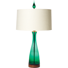 Emerald Carafe Table Lamp