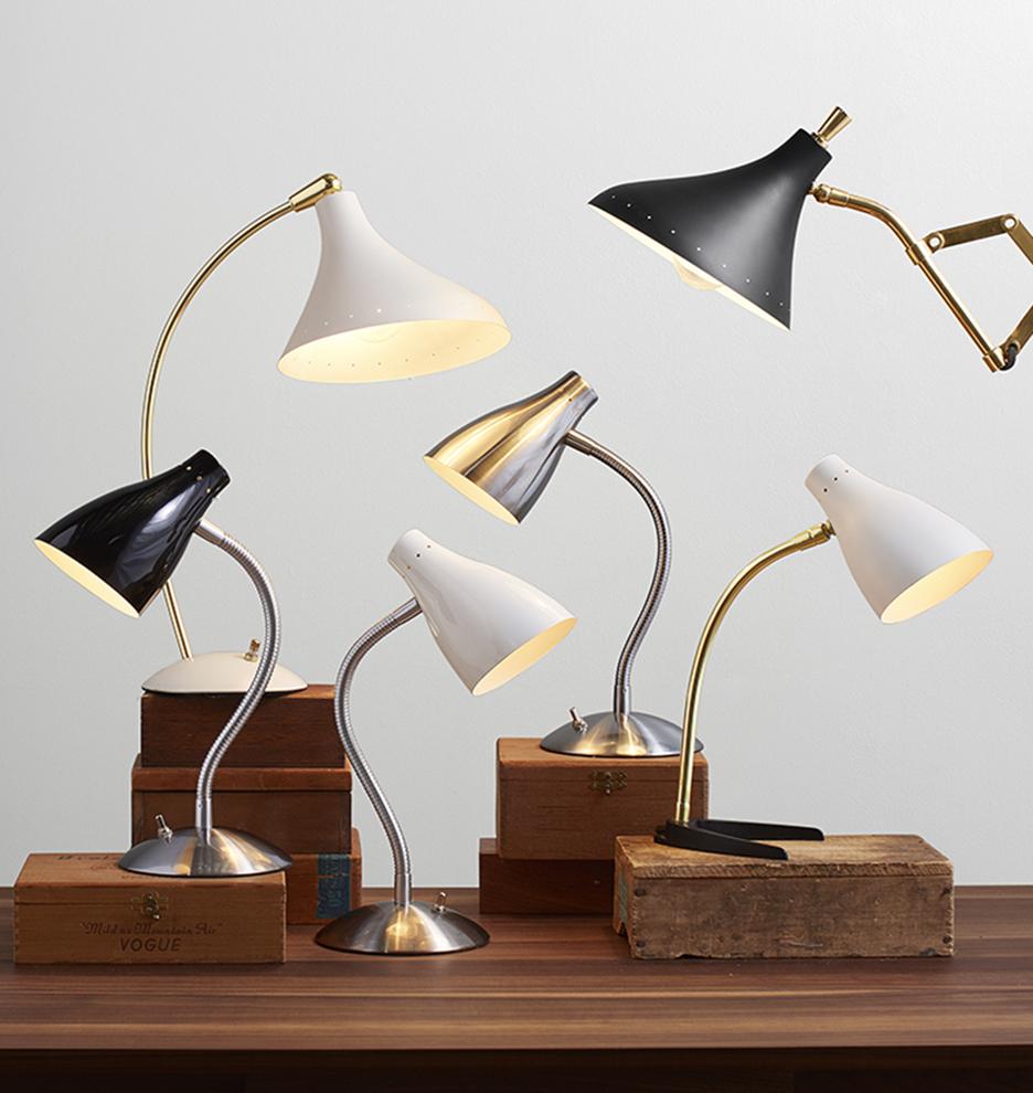 Model Flexible Swing Arm Clamp Mount Lamp Office Studio Home Table Desk